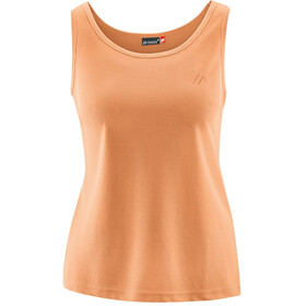 Maier Sports Petra Top Dames, canteloupe